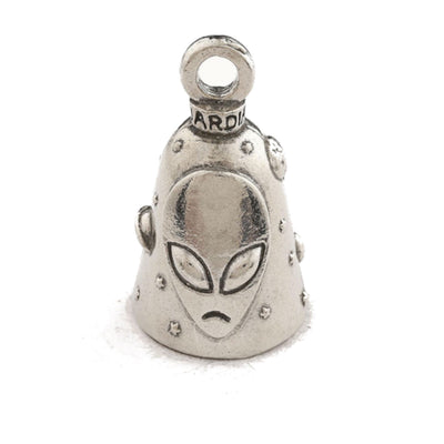 Daniel Smart Guardian Bell®Alien, Pewter, 1.5 x 1 in