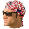 Daniel Smart American Flag Headwrap