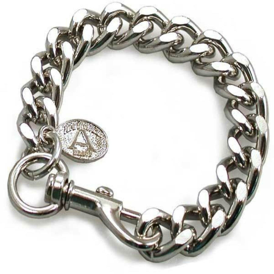 Daniel Smart Cut Leash Bracelet, Chrome-plated Steel Chain