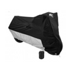 Daniel Smart Black/Silver Motorcycle Cover