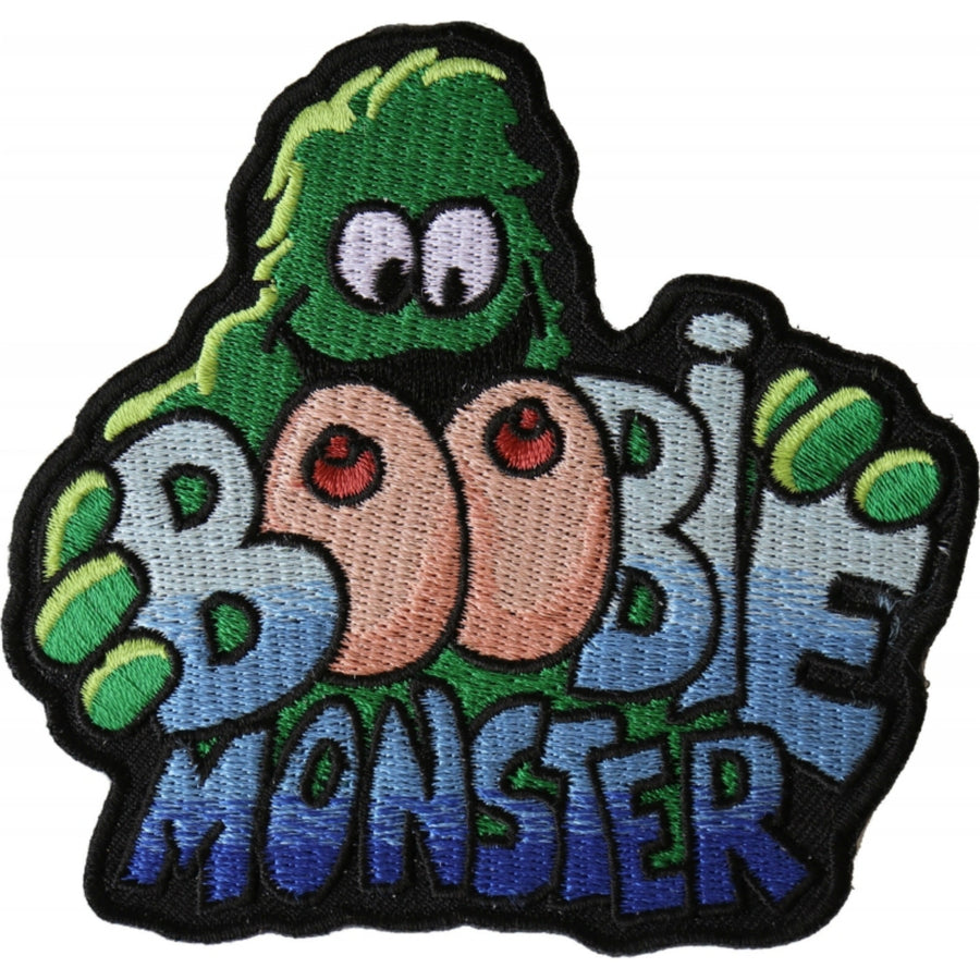 Daniel Smart Boobie Monster Patch, 4 x 4 inches