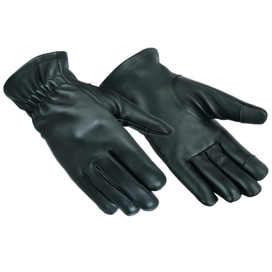 Daniel Smart Men's Deerskin Unlined Gloves, Black