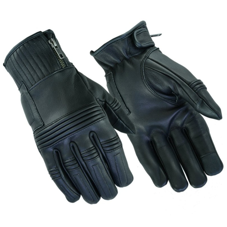 Daniel Smart Men's Premium Operator Gloves, Black