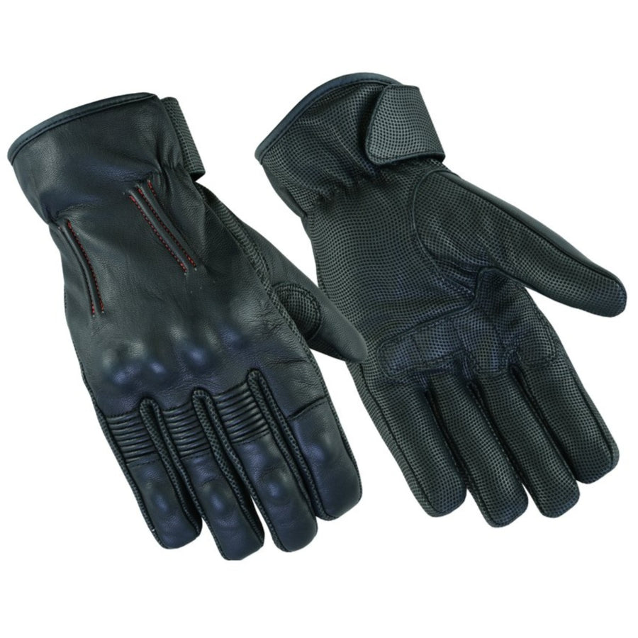 Daniel Smart Men's Feature-Packed Rakish Gloves, Black
