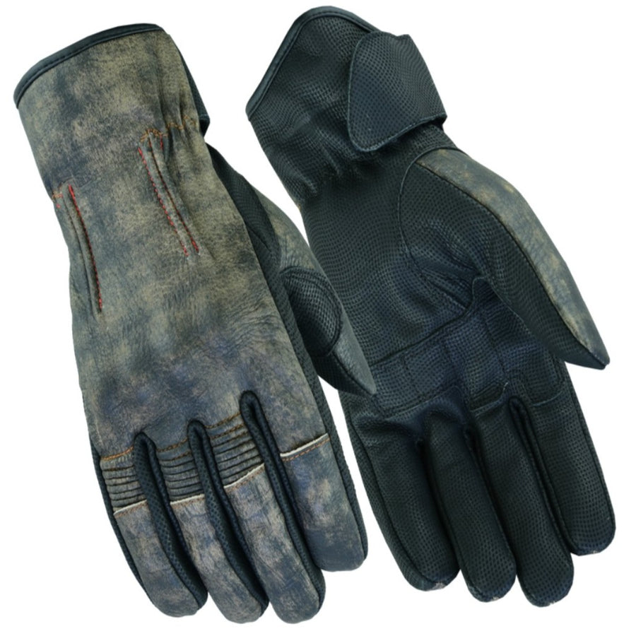 Daniel Smart Men's Feature-Packed Rakish Gloves, Washed-Out Brown