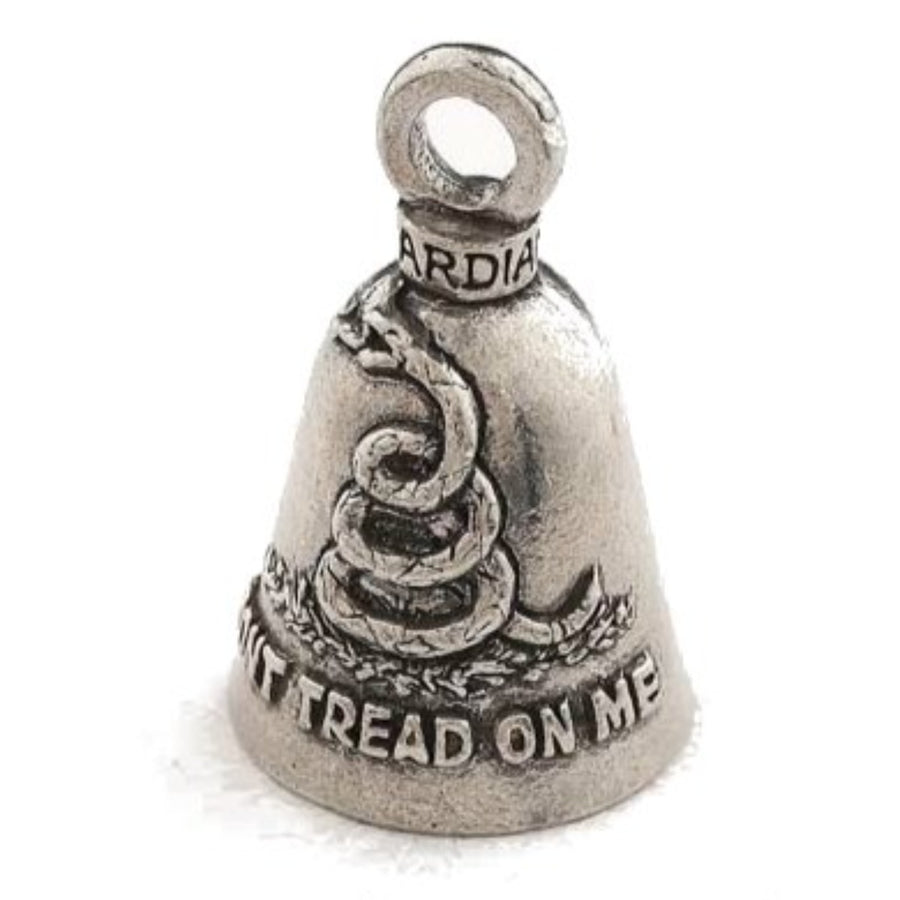 Daniel Smart Guardian Bell® Don't Tread On Me, Pewter, 1.5 x 1 in