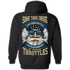 I Solve My Problems By Twisting Throttles Hoodie