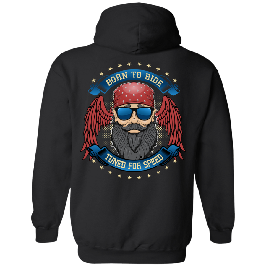 "Men's ""Born To Ride, Tuned For Speed"" Hoodie"