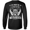 Talk About Motorbikes Long Sleeves
