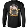 Women's Poker Skull Long Sleeves
