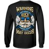 Warning: Don't Touch My Bike Long Sleeves