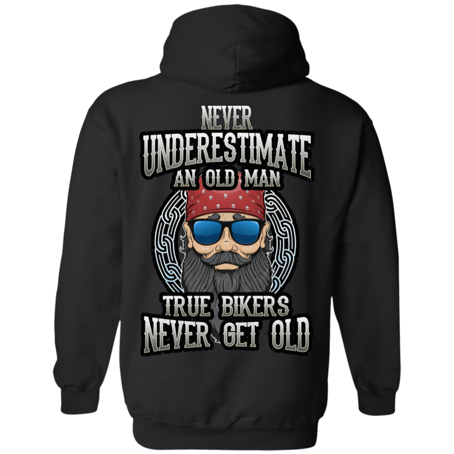 True Bikers Never Get Old Hoodie