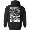 Proud to be American Legendary Rider Hoodie