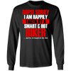 Women's Taken By A Smart & Hot Biker Long sleeves