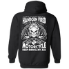 Motorcycle Keep Riding My Ass Hoodie