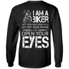 Men's I Am A Biker Long Sleeves