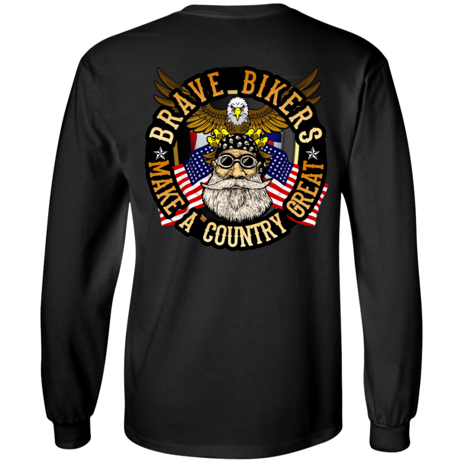 Bikers Make A Country Great Long Sleeves