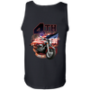 4th of July Tank Top, Cotton, Black - American Legend Rider