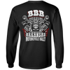 Bikes Blues & Bbq Arkansas Motorcycle Rally Long Sleeve T-Shirt, Cotton, Black