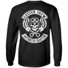Geezer Crew Arthritis Chapter Long Sleeve T-Shirt, Cotton, Black