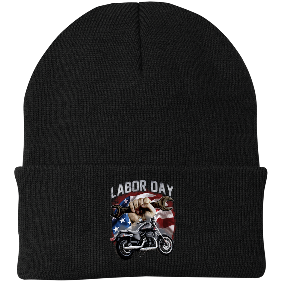 Labor Day Knit Cap