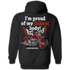 I'm Proud of my Bike's Body Hoodie