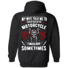 Choose Her or The Motorcycle Hoodie