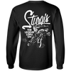 Sturgis Black Hills Rally, The Legend Lives On Long Sleeve T-Shirt, Cotton, Black