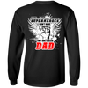 Some Superheroes Don't Have Capes, They Are Called Dad Long Sleeve T-Shirt, Cotton, Black