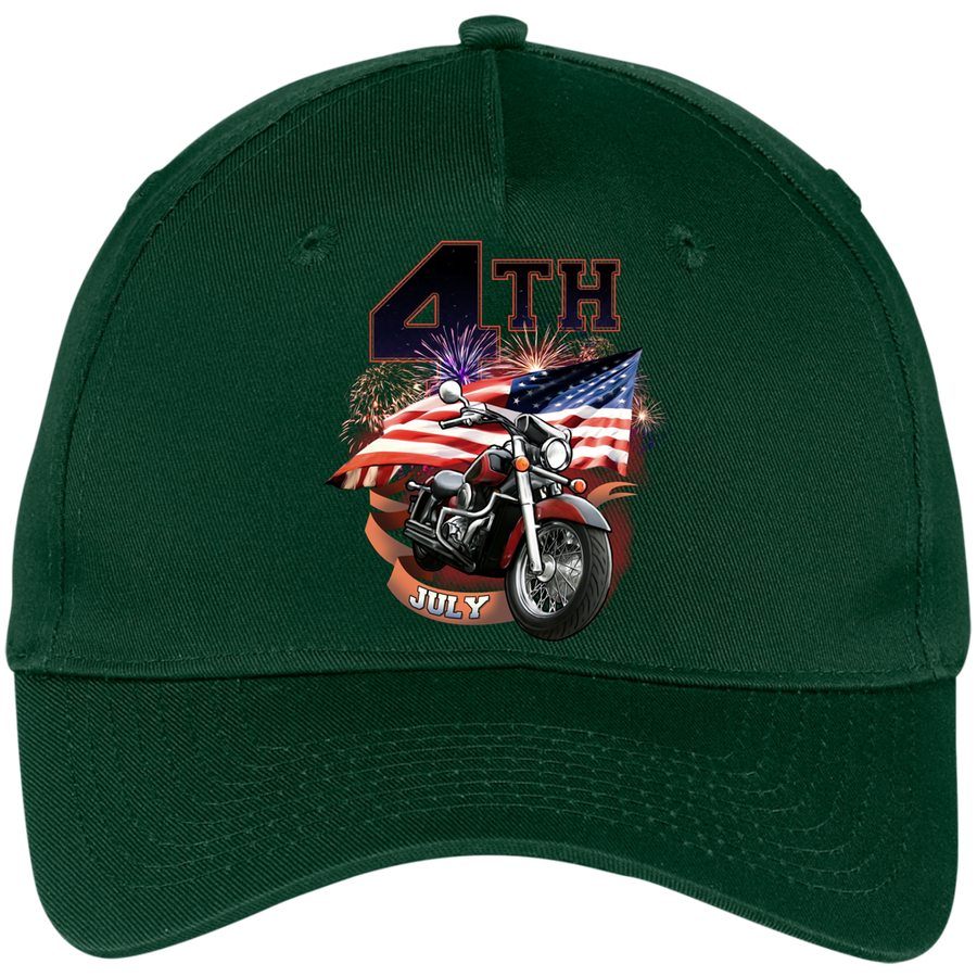 4th of July Cap, Cotton - American Legend Rider