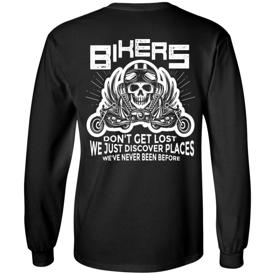 Bikers Don't Get Lost Long Sleeves
