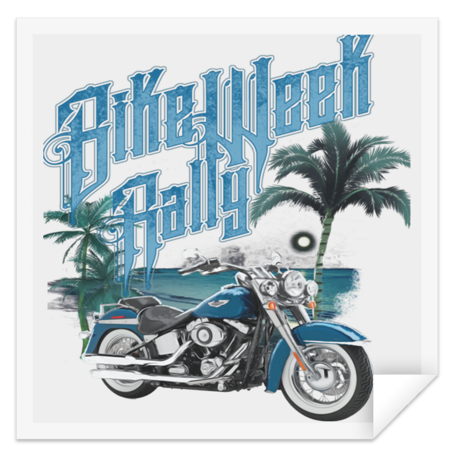 Bike Week Rally Sticker