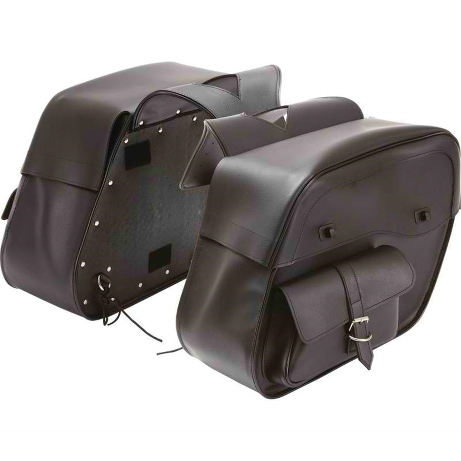 Jillian Slanted Motorcycle Saddlebag Set