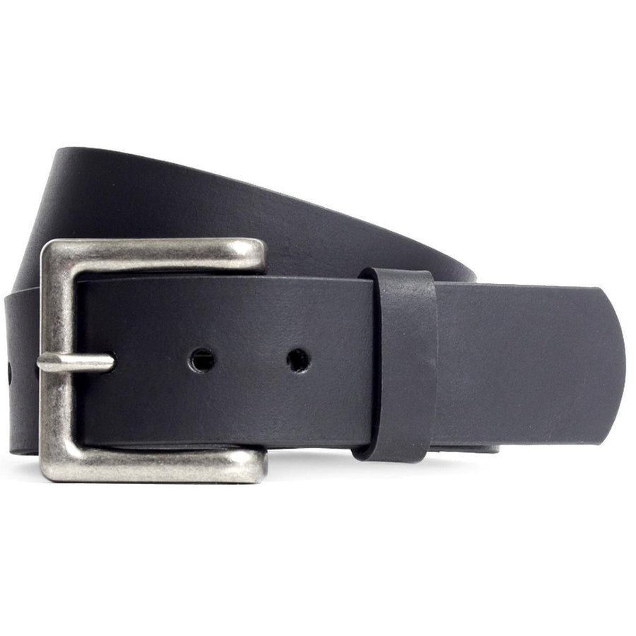 First Manufacturing 1 3/4 Inch Black Leather Belt