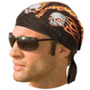 Daniel Smart Flaming Skulls Headwrap