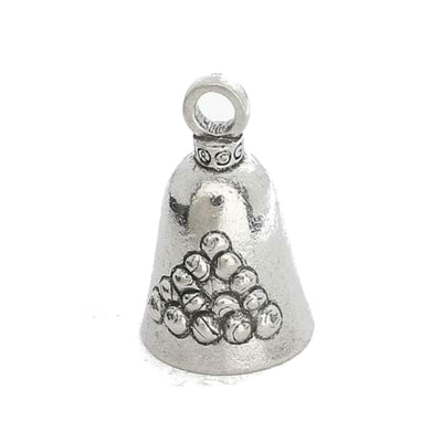 Daniel Smart Guardian Bell® 8 Ball, Pewter, 1.5 x 1 in