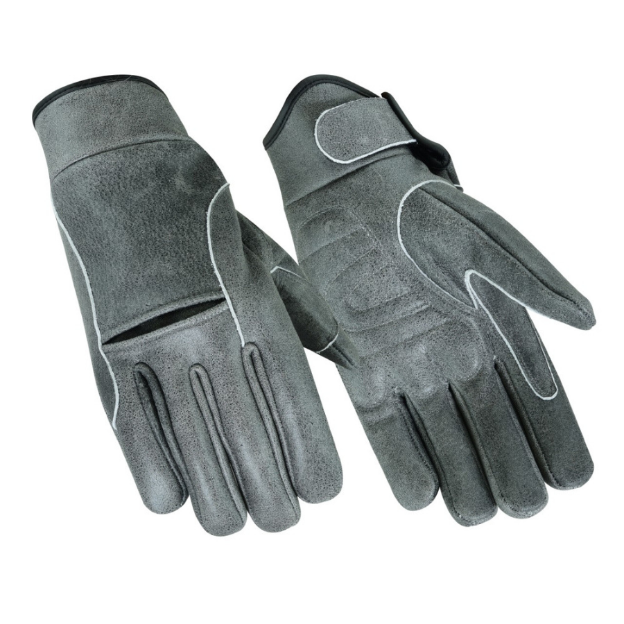 Daniel Premium Gray Cruiser Gloves