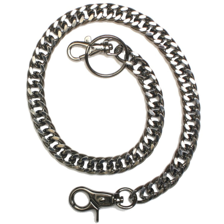 Daniel Smart Gun Metal Wallet Chain, 20 inch