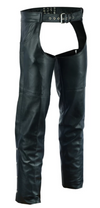 Daniel Smart Leather Chaps with 2 Jean Style Pockets - American Legend Rider
