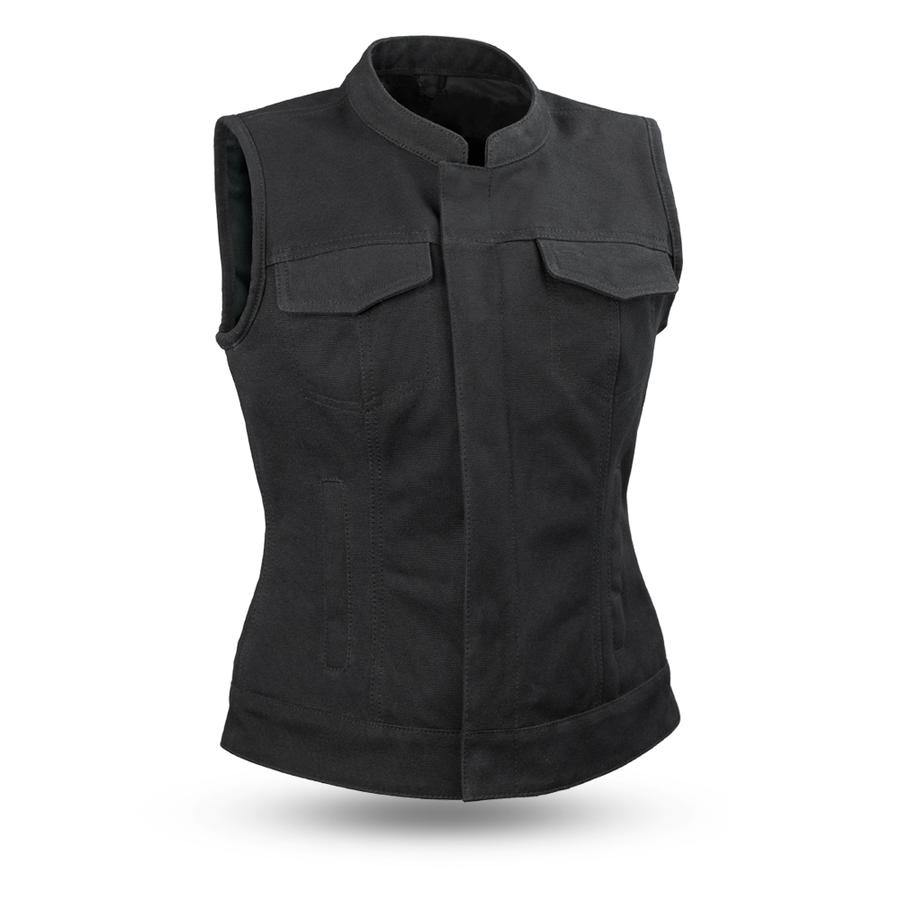 First Manufacturing Ludlow Canvas Vest