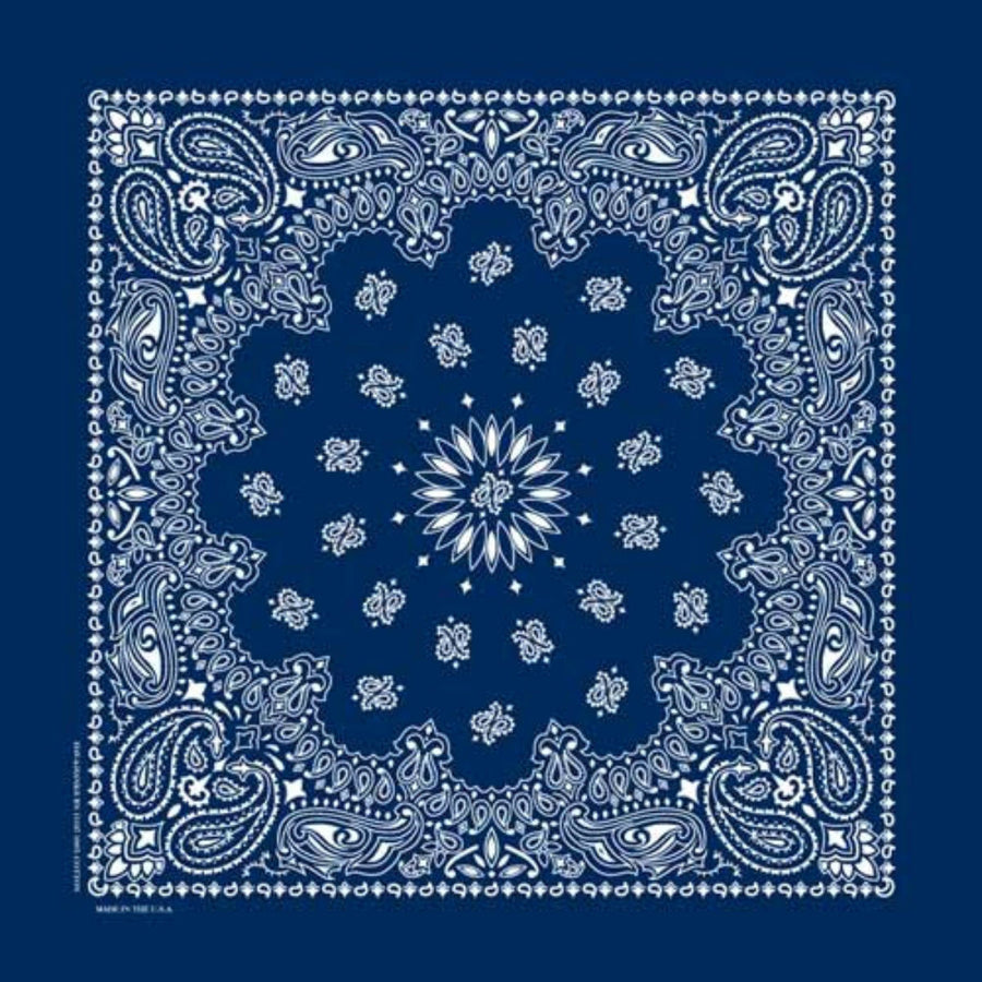 Daniel Smart Bandana Paisley, Navy Blue