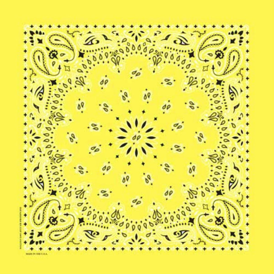 Daniel Smart Bandana Paisley, Yellow