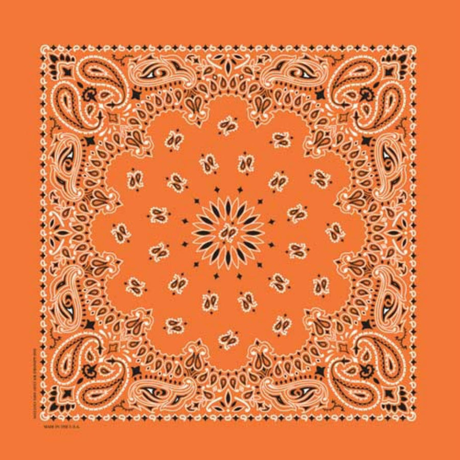 Daniel Smart Bandana Paisley, Orange