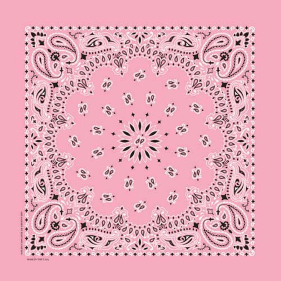 Daniel Smart Bandana Paisley, Light Pink