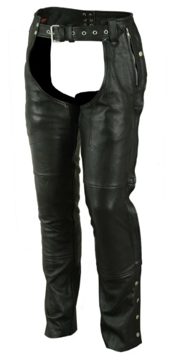 Daniel Smart Biker Thermal Lined Leather Chaps
