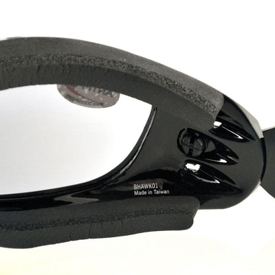 Bobster Night Hawk OTG Motorcycle Goggles, Large