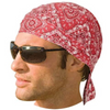 Daniel Smart Paisley Red Headwrap