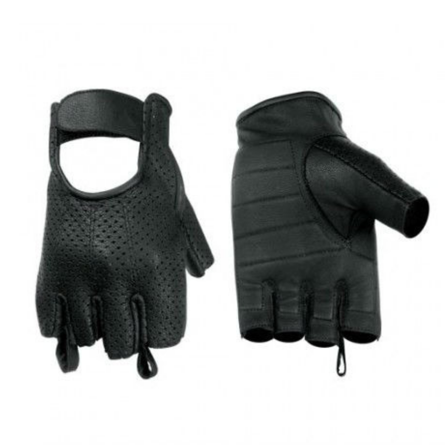 Daniel Smart Perforated Fingerless Gloves