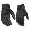 Daniel Smart Premium Cruiser Black Leather Gloves - American Legend Rider