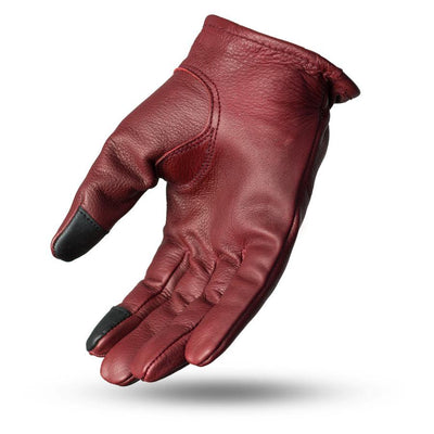 First Manufacturing Roper Motorcycle Leather Gloves